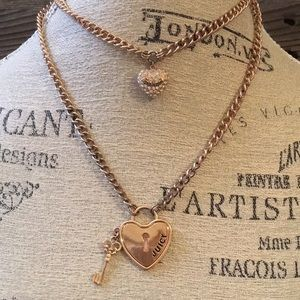 Juicy Couture double layer necklace